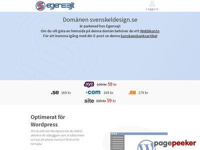 Elbutik på nätet  Svensk El-design - http://www.svenskeldesign.se