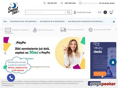 Materace pocketowe - sweetsen.pl
