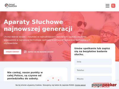 Najlepsze Aparaty Słuchowe - ŚwiatSłuchu24.PL