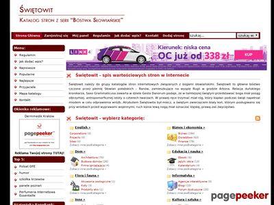 Świętowit - katalog www