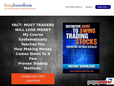 #1 Swing Trading Course –  Swing Trading – FREE DOWNLOAD – Swing Trading Course reveals how to find the most profitable stock trades. Learn proven and time tested trading methods.