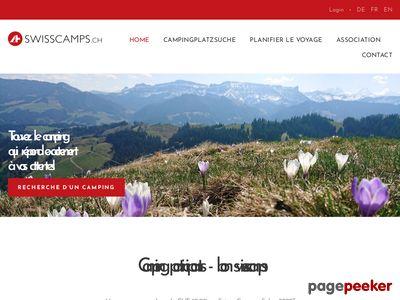 Campings de Suisse - A visiter!