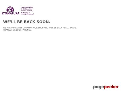 Www.sygnatura.com.pl - Tatry mapa