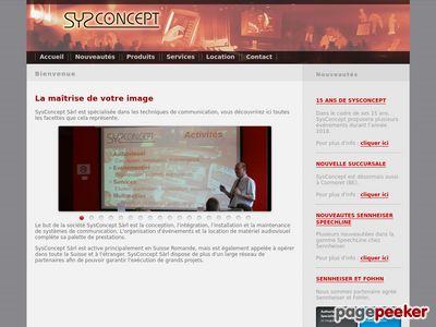Sysconcept Sàrl (Boudevilliers) - A visiter!