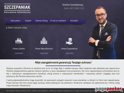 www.szczepaniak-adwokat.pl - Kancelaria Adwokacka