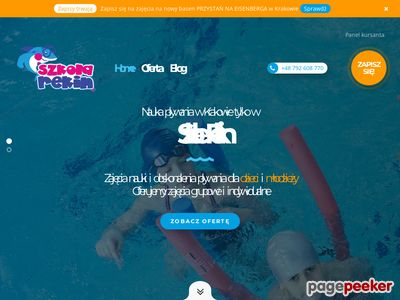 Nauka pływania Kraków