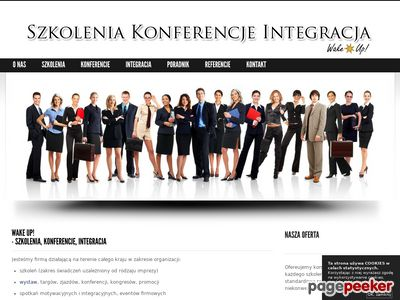 Szkolenia, konferencje, integracja - Wake Up