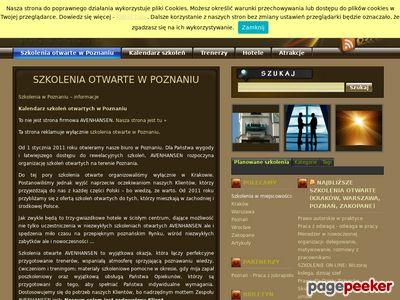 Kursy, szkolenia otwarte Poznań