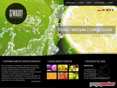 IMPORT EXPORT HANDEL HURTOWY KRZYSZTOF PIECZARA BYDGOSZCZ import owoców
