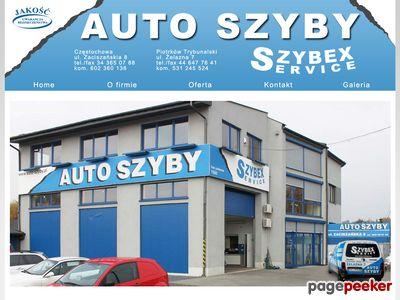 Auto szyby Częstochowa Szybex Service