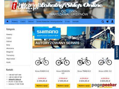 T-bike - wyprzedaż rowerów