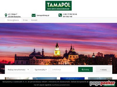 TAMAPOL - Biuro Nieruchomości Rzeszów