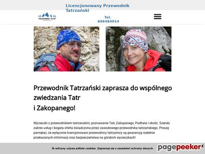 Oferta przewodnika tatrzańskiego