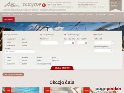 Domki Kościelisko - tatrytop.pl