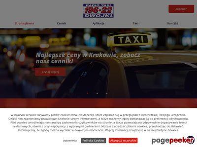 Dwójki Radio-taxi taxi osobowe Kraków