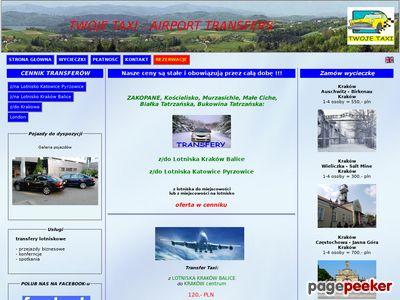Krakow Airport Transfers - TWOJE TAXI