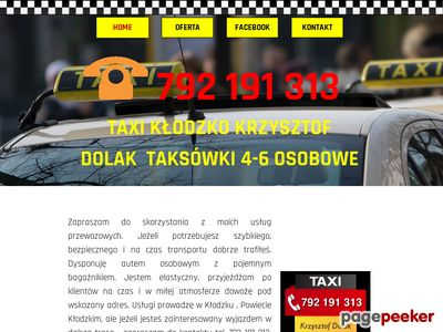 CAB PL Taxi Nowy Sącz