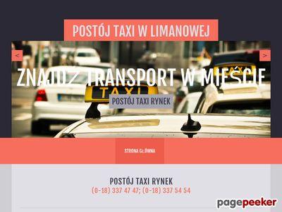 taxilimanowa.pl