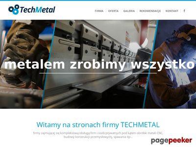TechMetal - z metalem zrobimy wszystko!