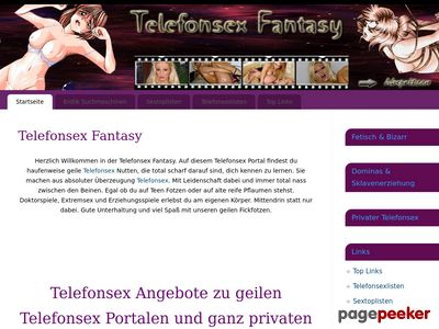 Telefonsex Fantasy