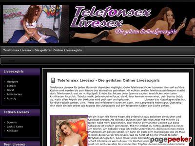 Telefonsex Livesex