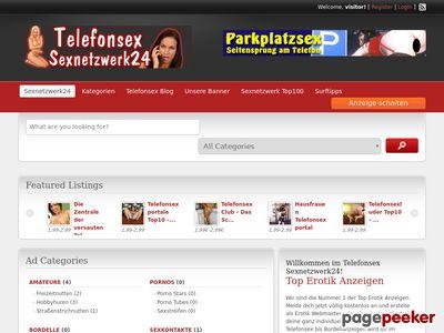 Telefonsex Sexnetzwerk 24