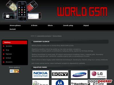 Telefony Łochów - World GSM