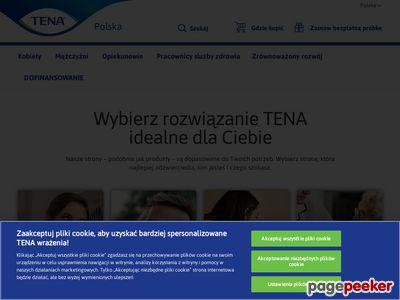 Wkładka urologiczna - tena.pl