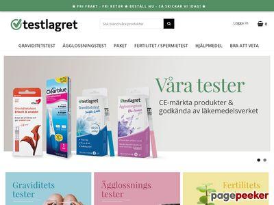 Testlagret.se - http://www.testlagret.se