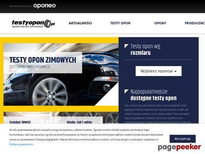 Portal oponiarski - testyopon.pl
