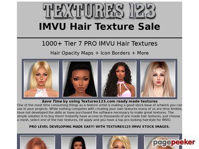 IMVU Hair Texture Sale