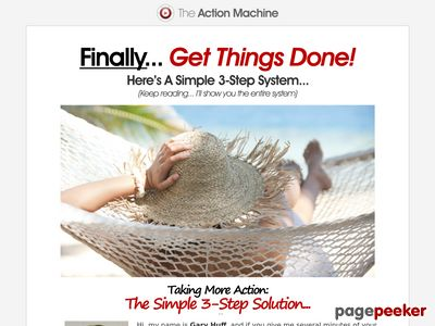 Get Things Done! - The Action Machine