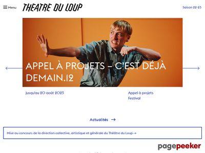 Théâtre du Loup (Genève) - A visiter!