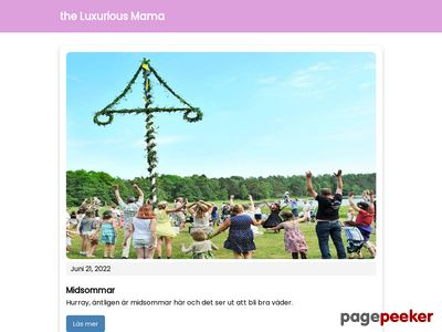The Luxurious Mama - http://www.theluxuriousmama.se