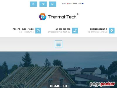 THERMAL-TECH materace termoizolacyjne