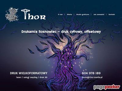 Thor Drukarnia Wielkoformatowa Agencja Reklamy