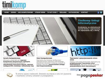 Naprawa komputerów, laptopów, strony internetowe - Oświęcim