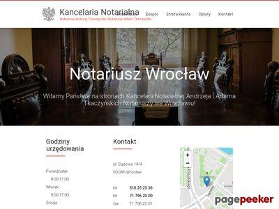 Kancelaria notarialna Wrocław