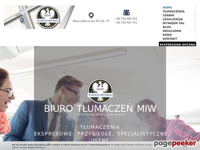 Biuro tłumaczeń Warszawa MIW