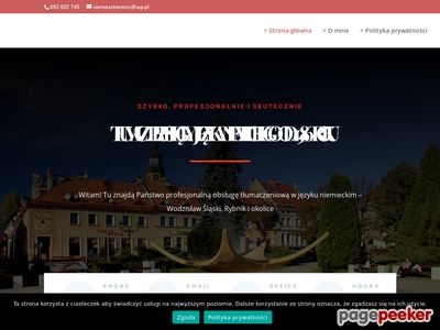 Tlumaczwodzislaw.pl