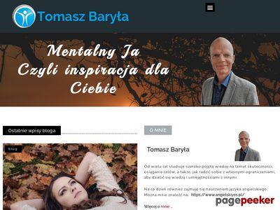 Mówca motywacyjny Tomasz Baryła poleca szkolenia motywacyjne i coaching indywidualny.