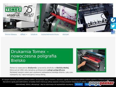 PRACOWNIA SITODRUKU TOMEX drukarnie bielsko