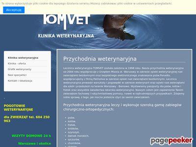 Przychodnia weterynaryjna Warszawa