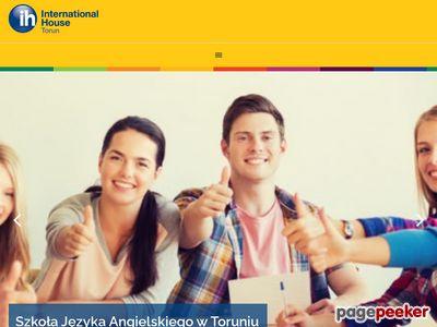 Nauka angielskiego w Toruniu