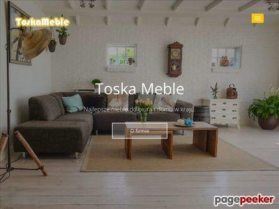 Meble sklepowe najwyższej jakości Toskameble.pl