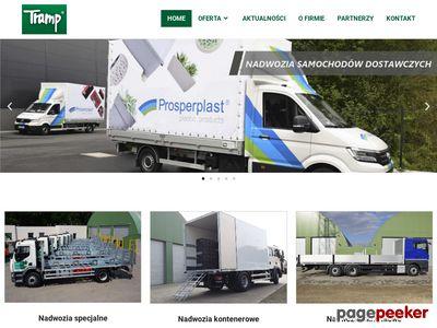 Profesjonalne zabudowy ciężarowe