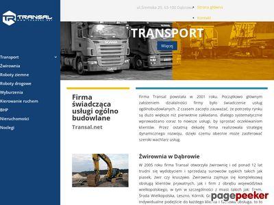 Transal.net - roboty drogowe