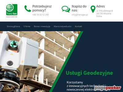 Transgeo.pl - geodeta