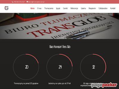 TRANS GLOB - Tłumaczenia Wrocław | Biuro tłumaczeń Transglob