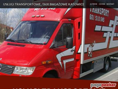 Usługi Transportowe Katowice
